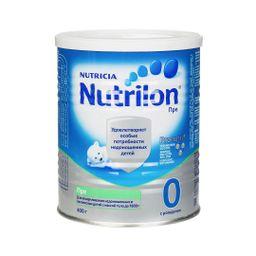 Nutrilon Пре 0, смесь молочная сухая, 400 г, 1шт.