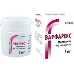 Варфарекс, 5 мг, таблетки, 100 шт.