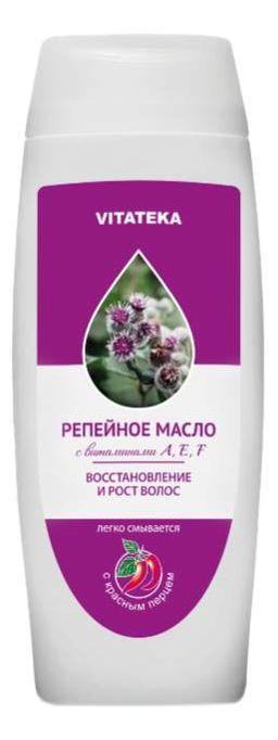 Витатека Репейное масло с красным перцем, масло косметическое, 100 мл, 1 шт.