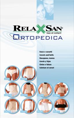 Relaxsan Бандаж люмбосакральный с 4 ребрами жесткости, р. L, арт. SPORFLEX, черного цвета, 1 шт.