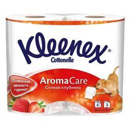 Kleenex Клубника Туалетная бумага