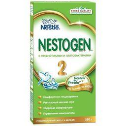 Nestogen 2, для детей с 6 месяцев, смесь молочная сухая, с пребиотиками и лактобактериями, 350 г, 1шт.