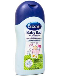 Bubchen Средство для купания младенцев, пена для ванн, 200 мл, 1 шт.