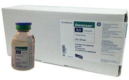 Омнискан, 0.5 ммоль/мл, раствор для внутривенного введения, 20 мл, 10 шт.
