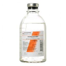 Новокаин, 0.5%, раствор для инъекций, 400 мл, 15 шт.