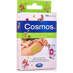 Cosmos Kids Пластырь, 6х10, 1размер, пластырь медицинский, детский (ая), 10шт.