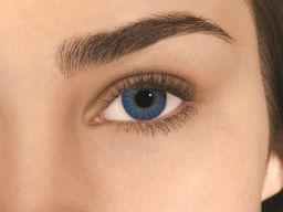 Alcon Air Optix Colors цветные контактные линзы, -0,00 D, Brilliant blue, 2 шт.