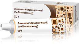 Линимент бальзамический (по Вишневскому), 3 г+3 г, линимент, 30 г, 1шт.