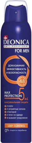 Deonica Антиперспирант For men Max protection 5в1, спрей, 200 мл, 1 шт.