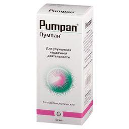 Пумпан, капли гомеопатические, 50 мл, 1шт.