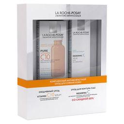 La Roche-Posay Набор Комплексный антивозрастной уход для сияния кожи