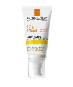 La Roche-Posay Anthelios SPF50+ гель-крем для склонной к акне кожи, гель-крем, 50 мл, 1 шт.