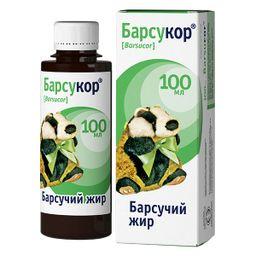 Барсукор барсучий жир, жидкость для приема внутрь, 100 мл, 1 шт.