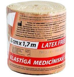 Бинты эластичные медицинские, 1,7мх8см, высокой растяжимости, 1 шт.