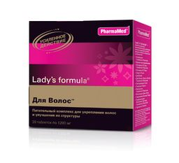 Lady's formula Для волос, таблетки, 30 шт.