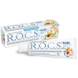 ROCS Kids Зубная паста Фруктовый рожок, без фтора, паста зубная, со вкусом мороженого, 45 г, 1 шт.