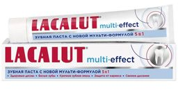 Lacalut Multi-effect 5в1 Зубная паста, паста зубная, 75 мл, 1 шт.