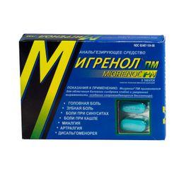 Мигренол ПМ, таблетки, покрытые пленочной оболочкой, 8шт.