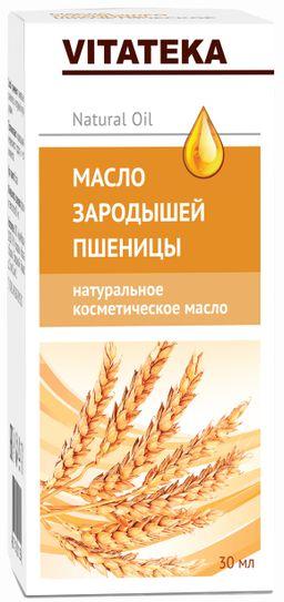 Витатека Масло зародышей пшеницы, масло косметическое, 30 мл, 1 шт.