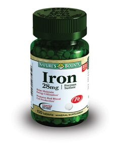 Natures Bounty Железо 28 мг, 28 мг, таблетки, 100 шт.