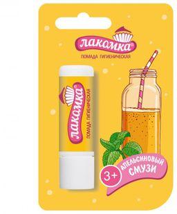Лакомка Помада гигиеническая детская, помада, апельсиновый смузи, 2.8 г, 1 шт.