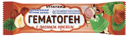 Витатека Гематоген Новый с лесным орехом, 40 г, 1 шт.
