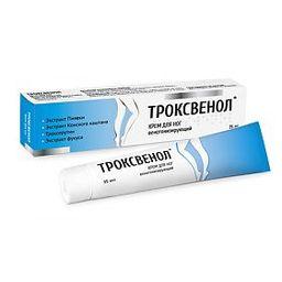 Троксвенол крем для ног, 35 мл, 1 шт.
