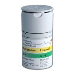 Флюанксол, 5 мг, таблетки, покрытые оболочкой, 100 шт.