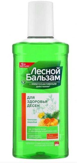Лесной бальзам Ополаскиватель Для здоровья десен, с фтором, раствор для обработки полости рта, 250 мл, 1 шт.