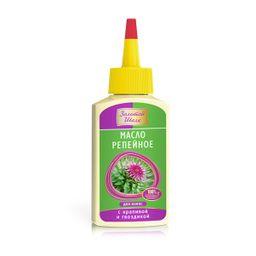Золотой Шелк масло репейное  для волос с крапивой и гвоздикой