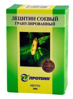 Лецитин соевый гранулированный, порошок гранулированный, 300 г, 1 шт.