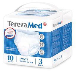 TerezaMed подгузники-трусики для взрослых, Large L (3), 100-135 см, 10 шт.