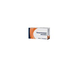 Гопантеновая кислота, 500 мг, таблетки, 50шт.