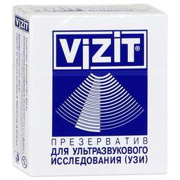 Презервативы Vizit для УЗИ, презерватив, 1 шт.