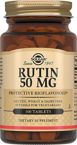 Solgar Рутин 50 мг, 50 мг, таблетки, 100 шт.