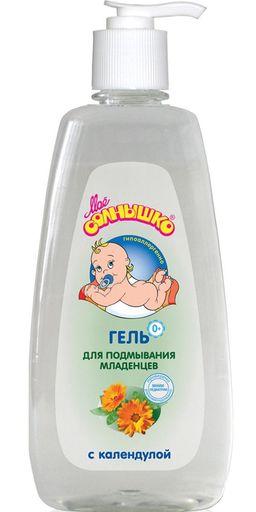 Гель для подмывания младенцев Мое солнышко с календулой, 400 мл, 1шт.
