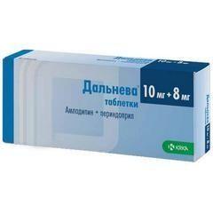 Дальнева, 10 мг+8 мг, таблетки, 90 шт.