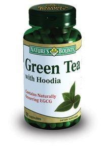 Natures Bounty Зеленый чай с худией, капсулы, 50 шт.