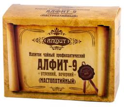 Алфит-9 фитосбор мастопатийный, 2 г, брикеты, утренний, вечерний, 60 шт.