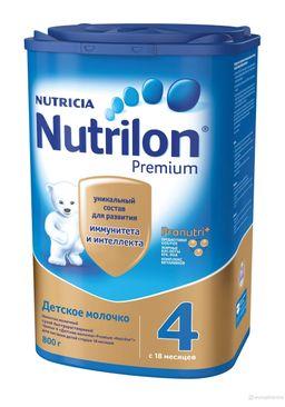 Nutrilon 4 Junior Premium Детское молочко, смесь молочная сухая, 800 г, 1шт.