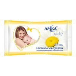 Amra салфетки влажные детские