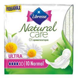 Libresse Natural Care Ultra Normal прокладки, прокладки гигиенические, 10шт.