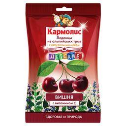 Кармолис Леденцы с медом и витамином С, леденцы, со вкусом вишни, 1 шт.
