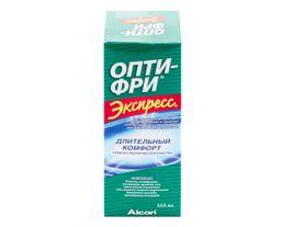 Опти-Фри Экспресс, раствор для обработки и хранения контактных линз, 355 мл, 1 шт.