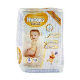 Huggies Elite Soft Подгузники детские одноразовые, р. 4, 8-14 кг, 19шт.