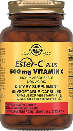 Эстер-С плюс Витамин C 500 мг капсулы