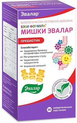Бэби Формула Мишки Пребиотик