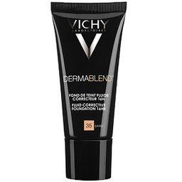 Vichy Dermablend флюид тональный корректирующий тон 35, крем для лица, тон 35, 30 мл, 1 шт.