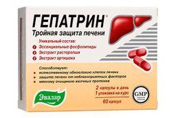 Гепатрин, 0.33 г, капсулы, 60 шт.