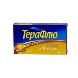 ТераФлю Экстратаб, таблетки, покрытые пленочной оболочкой, 10 шт.